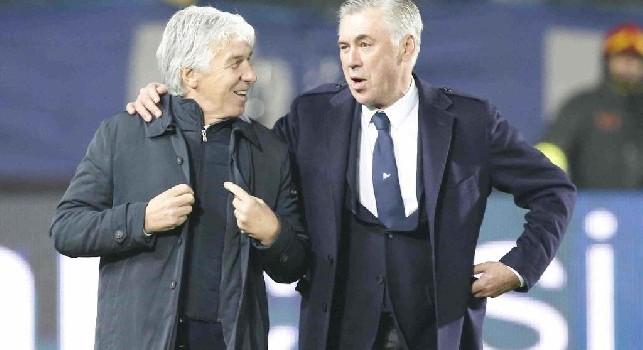 Gasperini e Ancelotti