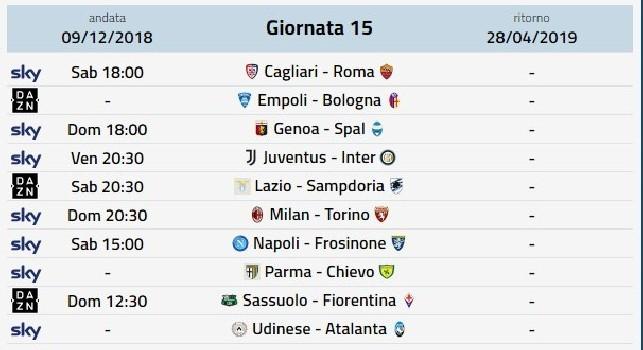Dove vedere le partite Serie A in Streaming e Tv