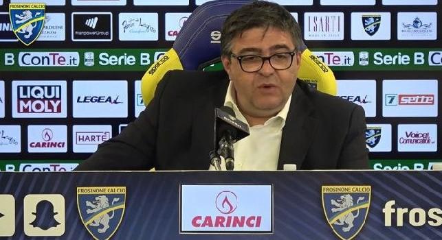 Frosinone, il dt Salvini: Ounas calciatore incredibile! Il San Paolo è la Scala del Calcio del Sud, sarà emozionante dare il massimo