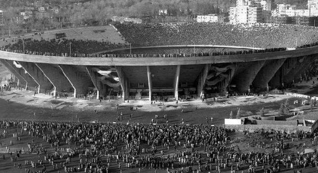 59 anni fa l'inaugurazione del San Paolo: ci fu Napoli-Juve e finì 2 a 1 [FOTO]