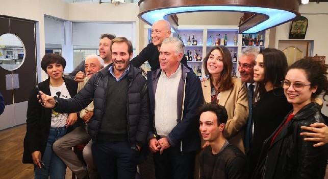 Ancelotti sempre più innamorato di Napoli: Mi piace tutto, anche la parte strana o stravagante!