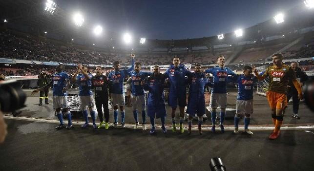 Forza ragazzi, noi ci crediamo!: la Curva B incita gli azzurri in vista della sfida contro il Liverpool [VIDEO CN24]