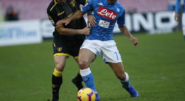 Adam Ounas, esterno offensivo del Napoli