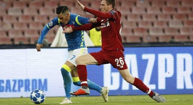 Liverpool, Robertson: Ci aspetta una settimana dura con Napoli e Man Utd: non vediamo l'ora di giocare gare così