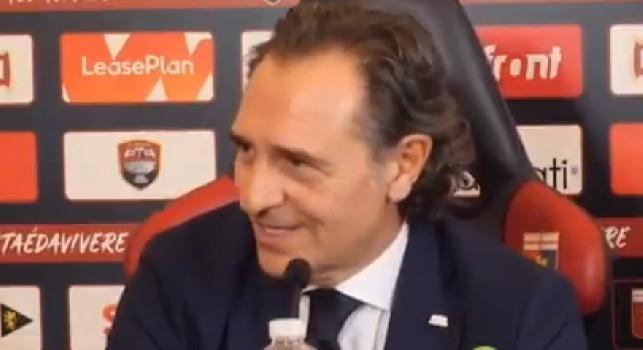 Genoa, clamoroso lapsus di Prandelli in conferenza: Non possiamo parlare di fi** [VIDEO]