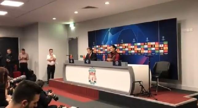 Liverpool, Klopp in conferenza: Abbiamo ottime possibilità di passare il turno, senza decisioni arbitrali avverse possiamo farcela. ADL mi piace, non ha peli sulla lingua
