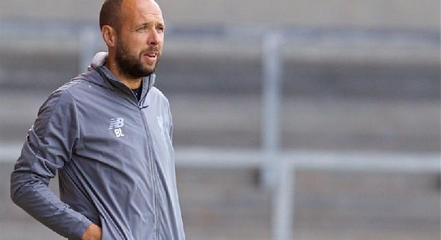 Lewtas, allenatore Liverpool U19