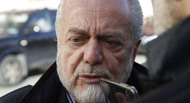 De Laurentiis non ha assistito alla rifinitura: il patron era in albergo a rileggere i documenti per la cessione di Hamsik