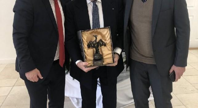 Comunque vada, amici!. Liverpool-Napoli, lo scatto del presidente con l'AD dei Reds al pranzo UEFA [FOTO]