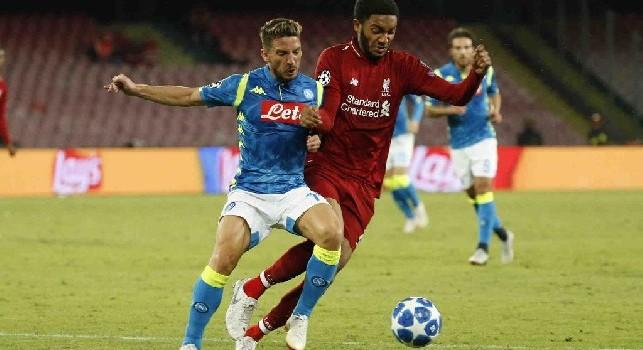 Mertens mette il Cagliari nel mirino: Dries vuole esserci dopo l'intervento cattivo di Van Dijk