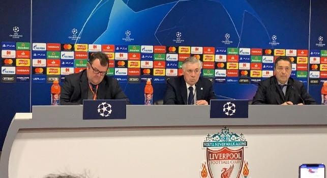 Ancelotti: Non siamo usciti da coglioni. Fallo su Mertens da rosso! Quando arriverà la VAR in Europa sarà troppo tardi. Ripercussioni? Ce la giochiamo contro chiunque