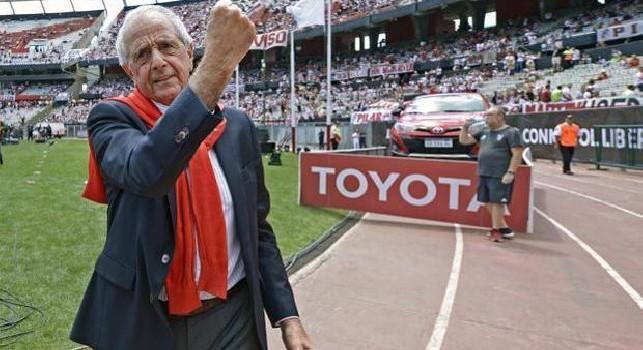 River Plate, presidente D'Onofrio: Quintero? Non abbiamo intenzione di cederlo, resterà con noi