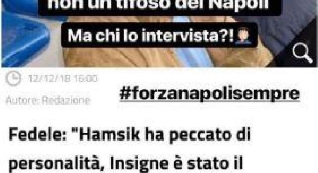 Sei un incompetente e non tifi Napoli!: critiche ad Insigne, il fratello Marco attacca Fedele [FOTO]