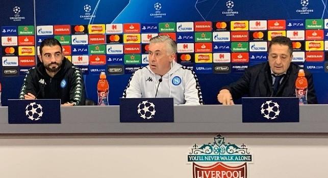 Ancelotti su Zielinski: Ha avuto un calo, ora è tornato fresco e lucido. Contro il Liverpool...