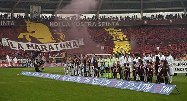 Torino - Juventus allo stadio Olimpico Grande Torino