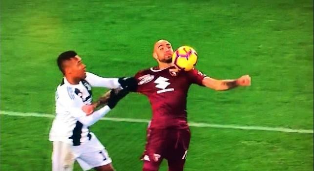 L'ex arbitro Marelli: Guida ha arbitrato benissimo Torino-Juve! Su Alex Sandro però c'era rigore...