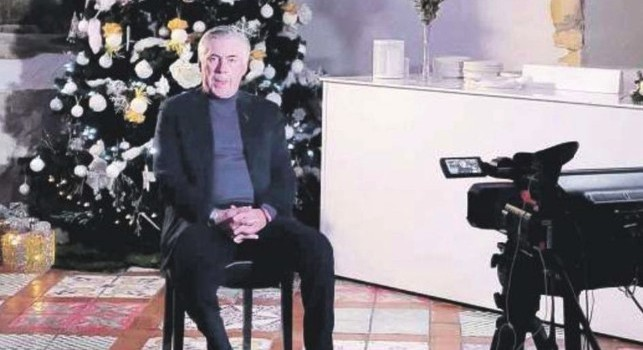 Carlo Ancelotti intervistato da Tiki Taka a Villa D'Angelo