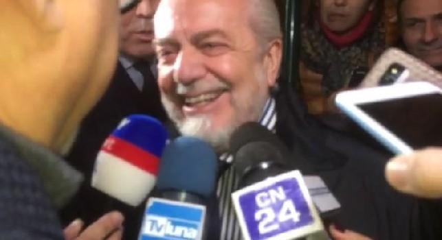 De Laurentiis: Sarri un comunista che pensava solo al denaro, era insopportabile. Ancelotti invece è sereno e disteso