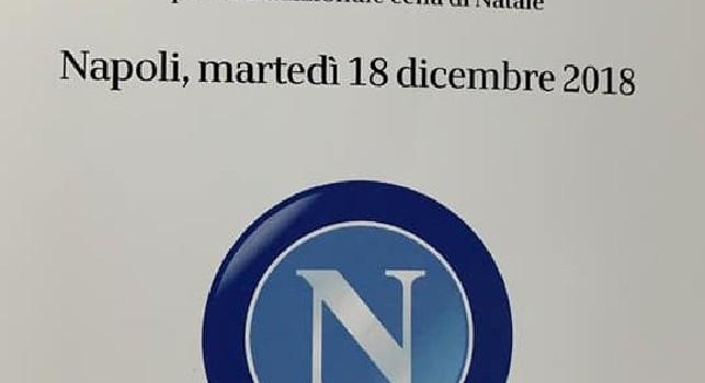 Cena di Natale SSC Napoli, il menù: dalla pizza margherita al babà, tutte le pietanze di stasera! [FOTO]