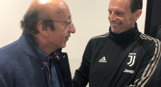 Moggi sull'addio di Allegri: Anche Guardiola sentirà il peso di Max. Ora Inter e Napoli hanno una possibilità