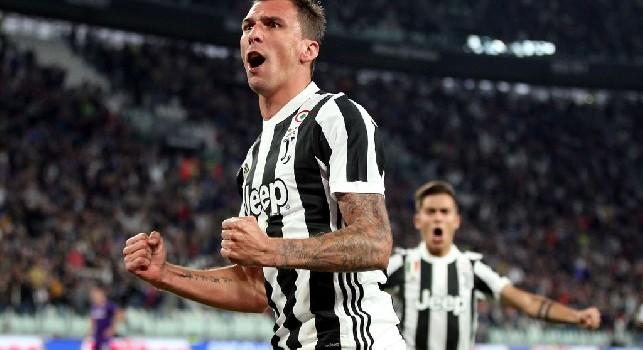 Juve, tegola Mandzukic: è in forte dubbio per la Coppa