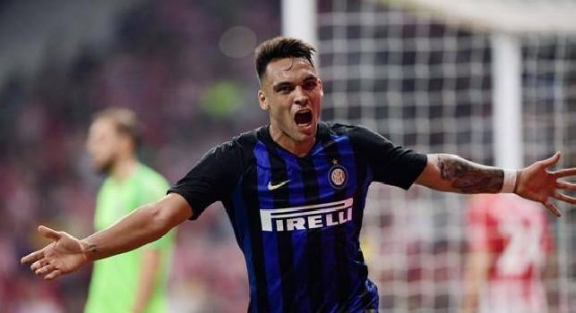 Formazioni ufficiali Inter-Verona, Lautaro Martinez
