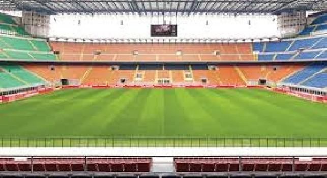 Inter, spunta l'ipotesi ricorso contro la chiusura del Meazza: spalti pronti ad accogliere i ragazzi delle scuole calcio