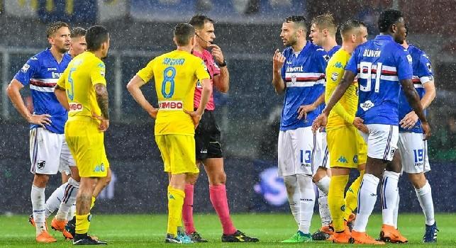 Auriemma: Quando Gavillucci sospese Samp-Napoli ricevette i complimenti di Rizzoli