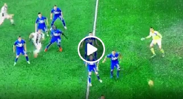 Juventus-Sampdoria 2-1, bianconeri in vantaggio grazie a un rigore dubbio [VIDEO]