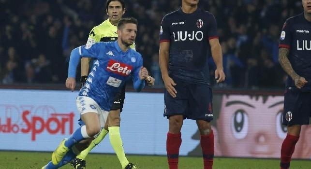 Sky - Brutte notizie per Mertens: il belga verso l'esclusione per Napoli-Sassuolo