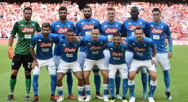 Formazione SSC Napoli 2018/19