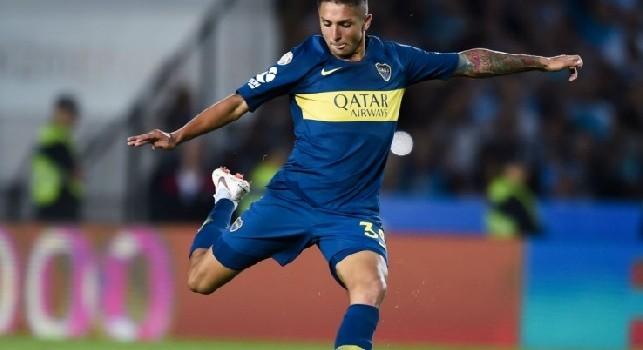 Almendra-Napoli, prima offerta al Boca Juniors