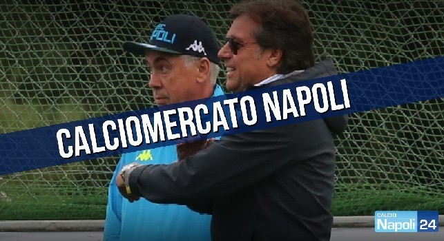 Calciomercato SSC Napoli, Ancelotti e Giuntoli
