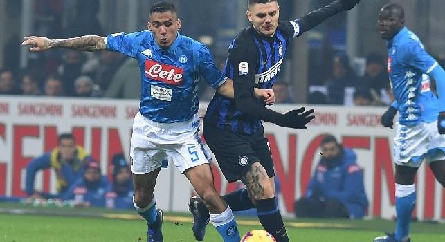 7Gold, Santini: Icardi al Napoli se ne parla da tempo! De Laurentiis sta aspettando di capire a quanto arriverà la quotazione di Koulibaly