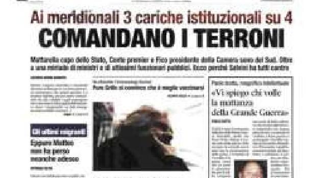 Comandano i terroni: l'Ordine dei giornalisti interviene contro Libero, predisposta sanzione disciplinare