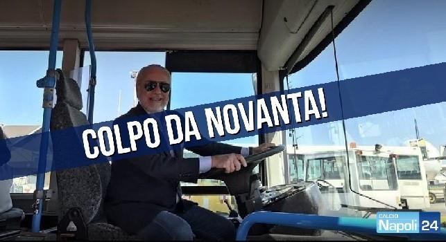 Calciomercato Napoli, Tv Luna: ADL rientra dagli USA per l'acquisto da favola!