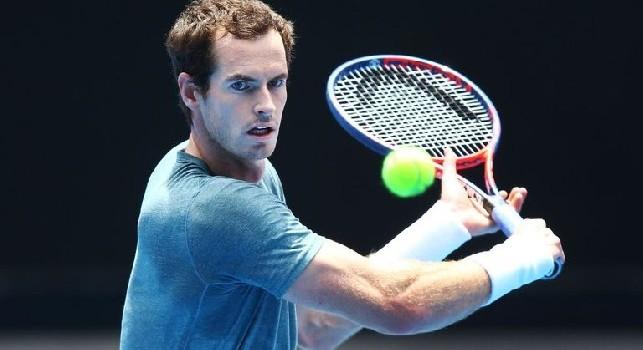 La SSC Napoli scrive a Murray: Forza Andy, vogliamo vederti in campo a Wimbledon!