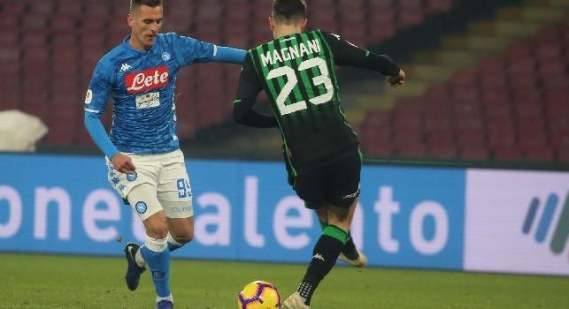 Bomber Milik: il polacco aggancia Mertens a quota undici gol stagionali