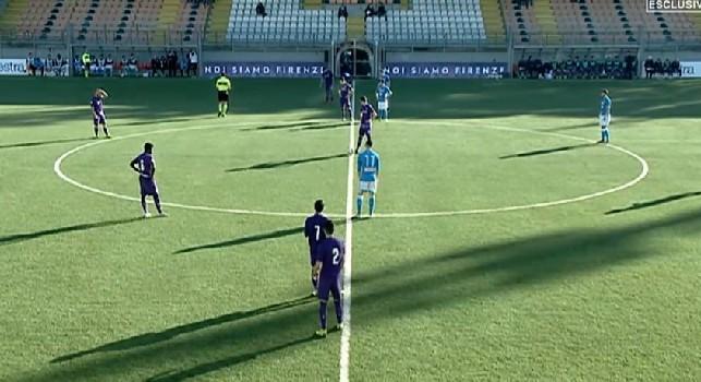 RILEGGI DIRETTA - Primavera, Fiorentina-Napoli 3-1 (14' Meli, 44' e 69' Vlahovic, 45' Negro rig.): gli azzurrini si inginocchiano allo strapotere viola