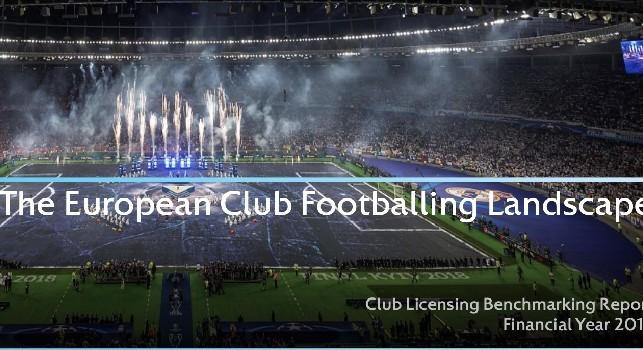 Studio UEFA: miglior impatto Champions sui ricavi per la SSC Napoli