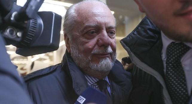 Aurelio De Laurentiis, calciomercato SSC Napoli