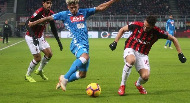 Malcuit, l'agente: Interesse di un club di Premier però sta bene a Napoli. Arsenal? Può darsi...