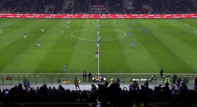 DIRETTA Milan-Napoli