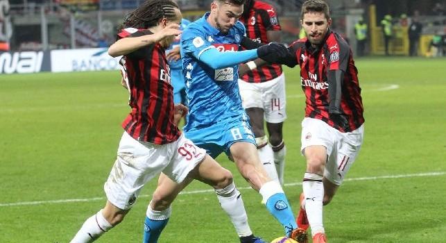 Piatek affonda il Napoli, tutte le emozioni di Milan-Napoli 2-0 [FOTOGALLERY CN24]