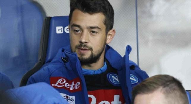 Amin Younes in panchina in Atalanta - SSC Napoli