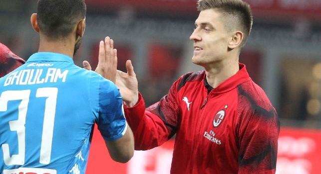 Krzysztof Piatek è un calciatore polacco, attaccante del Milan e della nazionale polacca