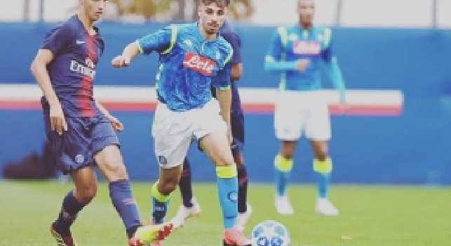 Antonio Illuminato, centrocampista della SSC Napoli