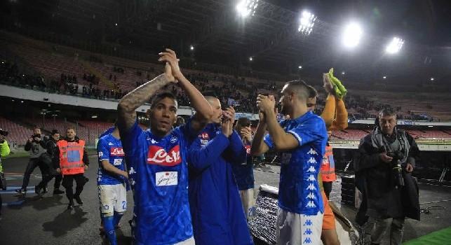 L'addio sotto la curva e la standing ovation del capitano: tutti gli scatti di Napoli-Sampdoria [FOTOGALLERY CN24]