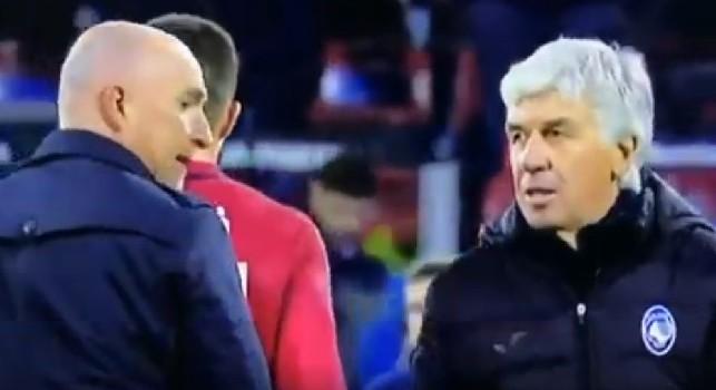 Nervi tesi a fine Cagliari-Atalanta: Gasperini ignora Maran, il tecnico non gradisce [VIDEO]