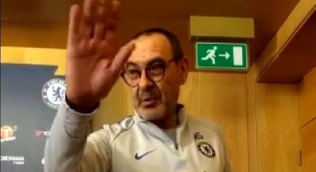 Forza Napoli Sempre!: Sarri e il messaggio per i fan di Sarrismo Gioia e Rivoluzione [VIDEO]